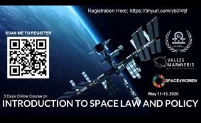 Introduction to Space Law and Policy