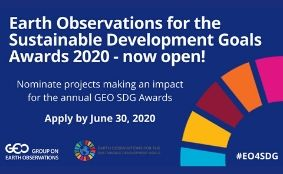 Call for Nominations for the GEO SDG Awards 2020