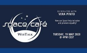 "Space Café WebTalk – ""33 minutes with Vera Pinto"""