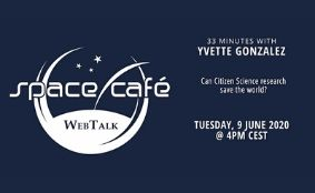 "Space Café WebTalk – ""33 minutes with Yvette Gonzalez"""