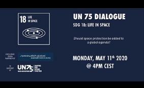 UN 75 Dialogue – SDG 18: Life in Space – Roundtable