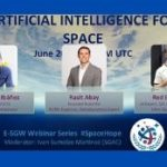 E-SGW Webinar Series: Artificial Intelligence for Space